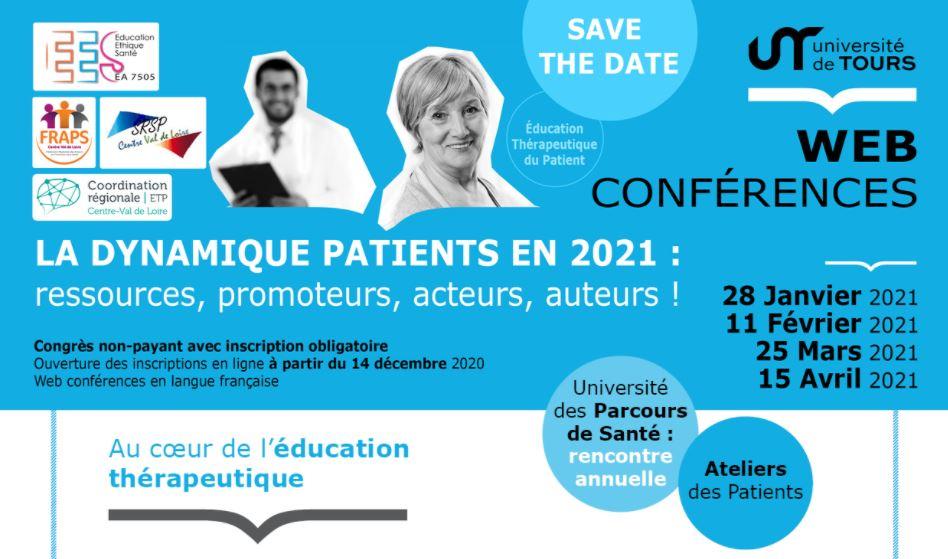 Web conférences : La Dynamique Patients en 2021
